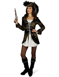 Pirate Girl - 4 Pc Jacket Dress Hat