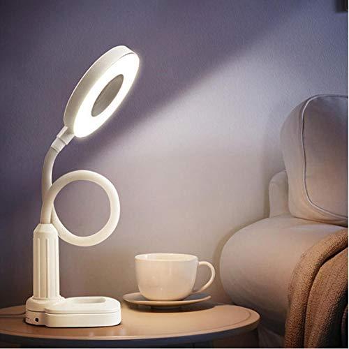 Led Schreibtisch Clamp Clip Lampe Neben Licht Stufenlos Dimmen Biegsamen Usb-anschluss Touch Sensor Control Lesen Dsk Lampe 3 Farben 5 Watt -