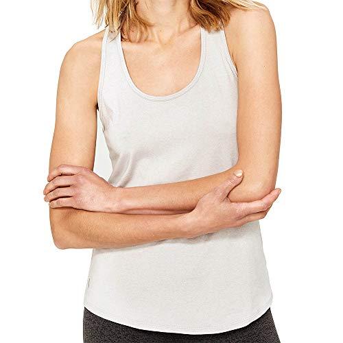Lolë Fancy Camiseta de Tirantes, Mujer, Gris (Light Grey Heather), L