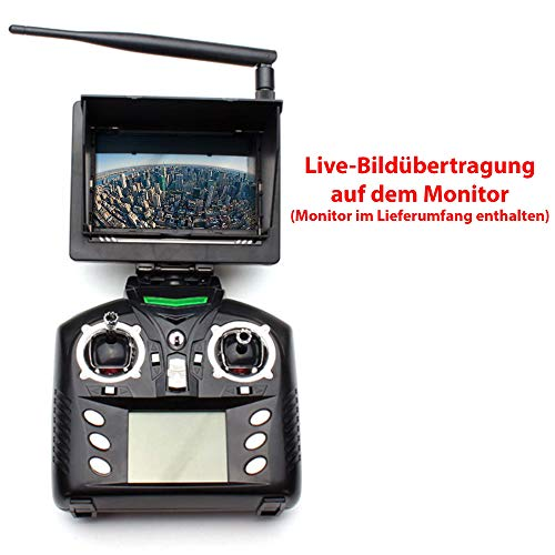 Wltoys V686G 2,4 G 4CH Echtzeit Übertragung FPV Drohne UFO Quadcopter mit 2MP HD Kamera Headless Mode - 3