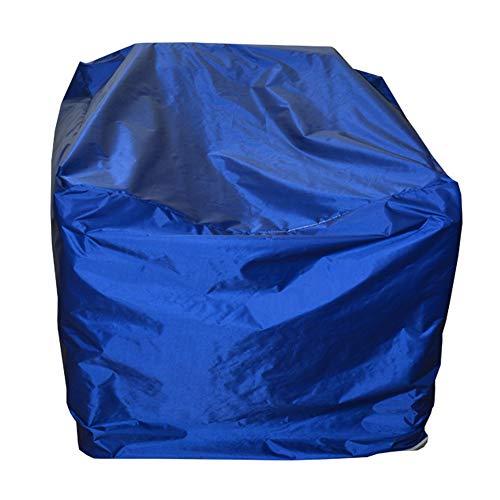 ZHANWEI Housse Protection Salon De Jardin Imperméable Table Chaise Couverture De Canapé Parapluie Imperméable Bâche De Tente Protection De La Canopée De Plein Air Anti-UV Taille Personnalisable, 2 Cou