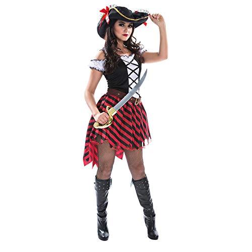 Kostüm Piraten Weiblich - Damen Pirat Kostüm Weibliche Piraten Kleid Qualität Kleidung Für Frauen - Mittel