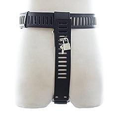Idea Regalo - Yocitoy Dispositivo di cintura di castità in pelle regolabile per la masturbazione femminile
