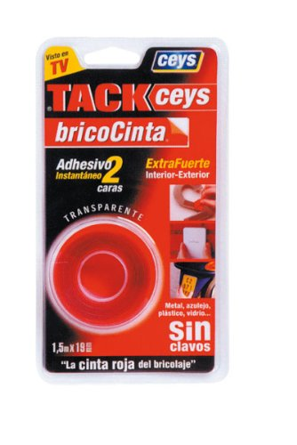 Ceys - Cinta adhesiva dos caras Tack-