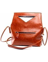 Bolso bolsa única hembra minimalista,caqui