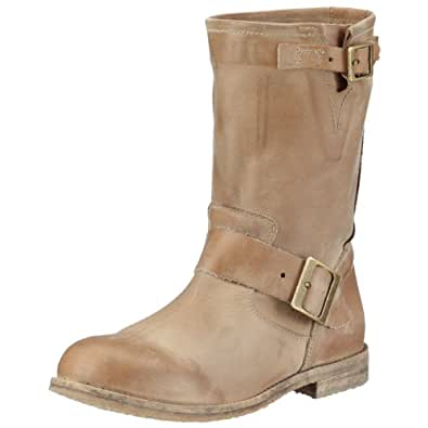 Buffalo London 13980 WASHED LEATHER 106346, Damen Stiefel, Beige (ROCA 01), EU 36