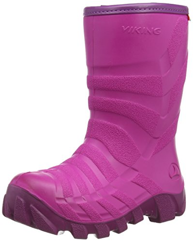 Viking ULTRA 2.0, Unisex-Kinder Schneestiefel, Pink (Fuchsia/Purple), 27 EU (9 UK)