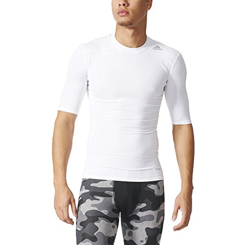 adidas Herren T-shirt TF Base SS White, XL