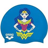 Arna Super Hero Jr Gorro Azul/Blanco Wonder Woman, Color Azul/Blanco, tamaño Talla única