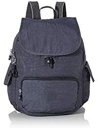 Kipling City Pack S, Mochila para Mujer, azul, 27 x 33.5 x 19 cm