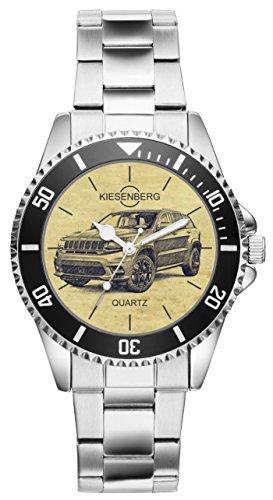 Regalo para Jeep Cherokee Fan Conductor Kiesenberg Reloj 6290