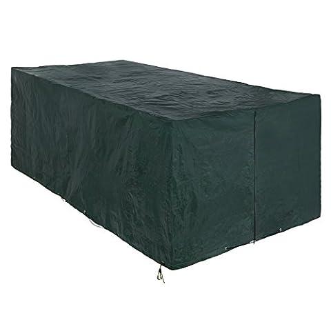 Songmics Bache de protection pour des meubles de jardin 240 x 140 x 90 cm GFC93L
