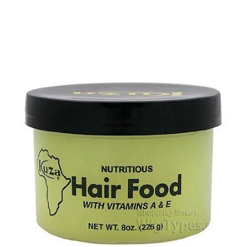 kuza nutritious hair food with vitamins a&e 8 oz