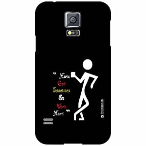 Printland Back Cover For Samsung Galaxy S5 - This Side Designer Cases