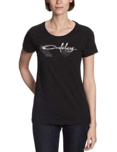 Oakley Misty Script T-Shirt pour femmes Noir - noir