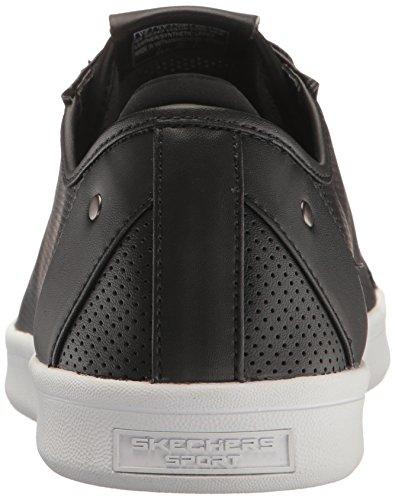 Skechers Herren Highland-t Laufschuhe Schwarz (Black White)