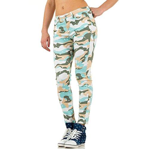Ital-Design -  Jeans  - Donna Verde