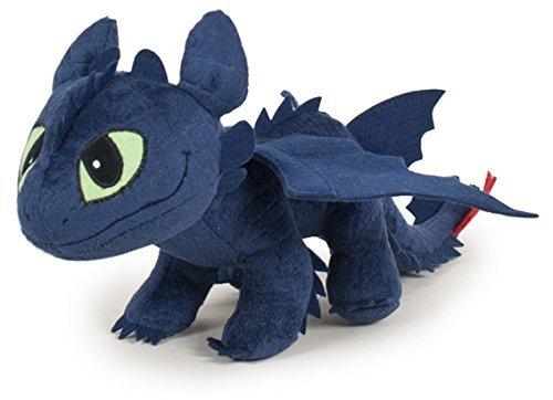 Dragons (HTTYD ) - Peluche Toothless Night Fury 60cm Qualità soft