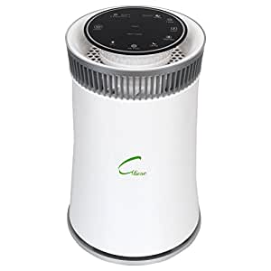 Gliese Magic - 24 Watt Room Air Purifier With Hepa Filter & Pm 2.5 Meter (Classic White)