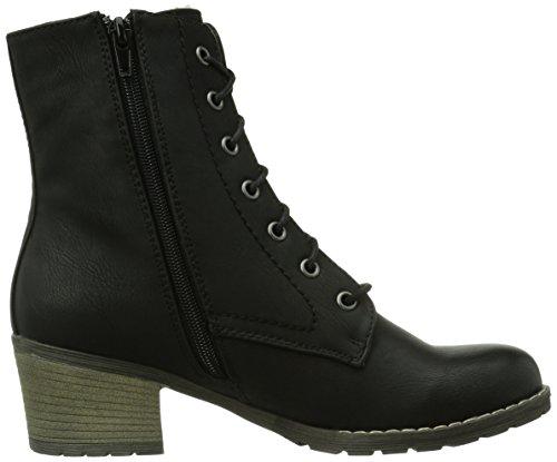 Rieker 92532-00, Boots femme Beige (Schwarz/00)