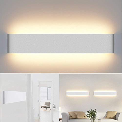 Aplique Pared Interior Lámpara de Pared IP44 Impermeable Kambo, 20W 60CM Blanco Cálido 2800K 1500lm...