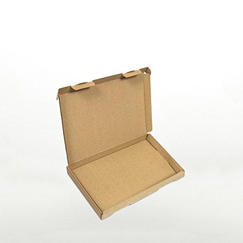 100 x Großbriefkartons 230 x 160 x 20 mm Braun - Marken-Qualität von OfficeKing® 100 Gb Cd