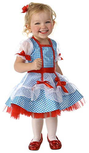Big Girls' Wizard of Oz Dorothy Glitter Costume 12/18 Months