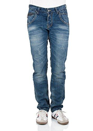 Timezone Herren Jeans Harold TZ rough Regular midwest (3627)
