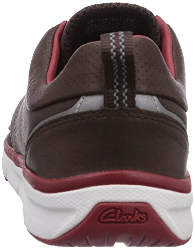 Clarks Orson Crew, Derbies à lacets homme Marron (Brown Leather)
