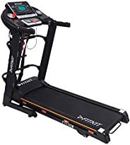 Fitkit FT100M Series 1.75HP (3.25HP Peak) Motorized Treadmill With Free at Home Installation Services and Free