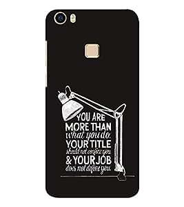 EPICCASE attitude Mobile Back Case Cover For Vivo V3 Max (Designer Case)