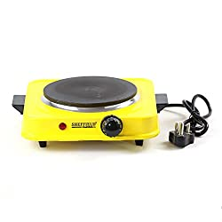Sheffield Classic Electric Cooking Stove Hot Plate 1500 watts- Yellow
