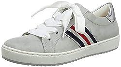 Jenny Damen DUBLIN 2253226 Sneaker, Grau (Pebble, Silber 70), 41 EU