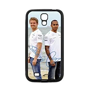 Nico Rosberg Charming Lewis Hamilton signed HD Image Personalized SamSung Galaxy S4 I9500 TPU case cover