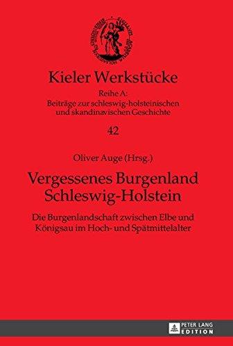 Vergessenes Burgenland Schleswig-Holstein: Die Burgenlandschaft zwischen Elbe und Königsau im Hoch- und Spätmittelalter (Kieler Werkstücke / Reihe A: ... und skandinavischen Geschichte, Band 42)