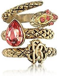 Roberto Cavalli Women's GQG826AM008D4150 Gold Metal Ring