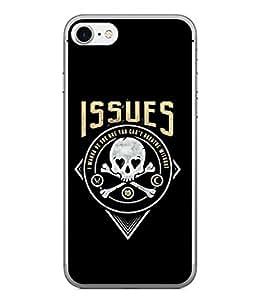PrintVisa Designer Back Case Cover for Apple iPhone 6 Plus :: Apple iPhone 6+ (Lover Warning Wish True Love Crossbones Stalking Issues Beautiful Alarm)
