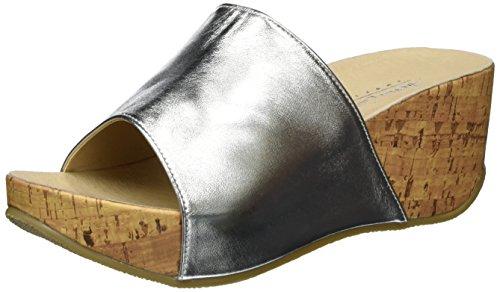 Andrea Conti Damen 1543427 Pantoletten, Silber (Silber), 36 EU