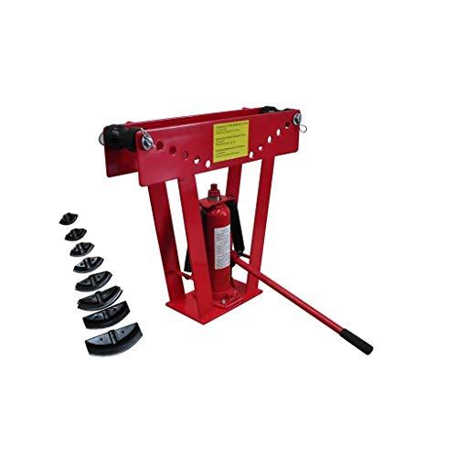 vidaXL Cintreuse-Presse à cintrer hydraulique - 16 T + 8 matrices