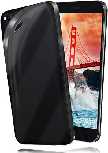 moex® Funda [Transparente] Compatible con Xiaomi Redmi Go   Ultrafina y Antideslizante - Transparent