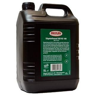 5 Liter Kanister Meguin Sägeketten Haftöl, Kettenhaftöl, Kettenöl für Motorsäge, Kettensäge
