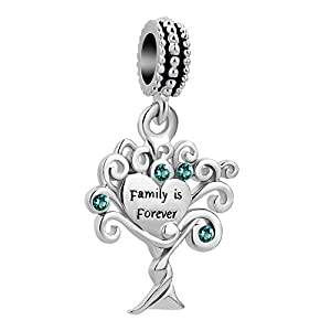 Korliya Anhänger für Armband Family is Forever Baum des Lebens