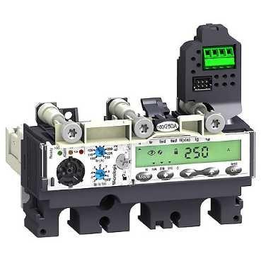 SCHNEIDER ELEC PBT - PAC 55 10 - UNIDAD PROTECCION MOTOR MICROLOGIC 6 2-EM 220A 3 POLOS 3R