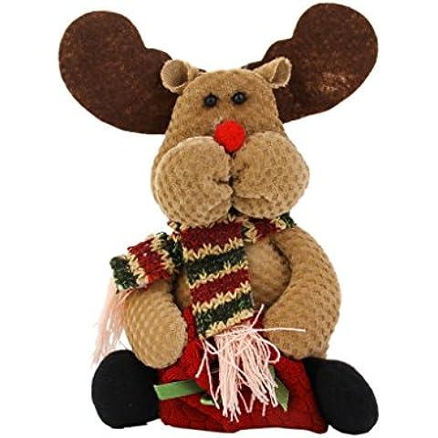 Bolsa de Caramelo Regalo Ciervo Decoración Adorno para Árbol Navidad Fiesta