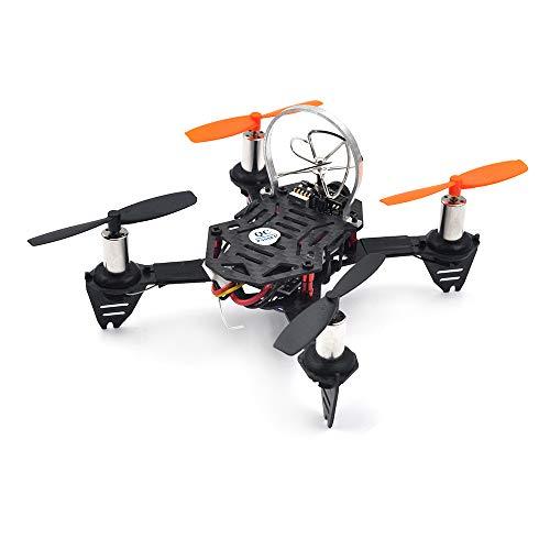 Goolsky Radiolink F110S Micro Racing Drone con 5.8GHz 40CH 200mW VTX Cámara R6DSM Receptor Controlador de Vuelo CS360 Incorporado para RC Principiante y Entrenamiento Profesional