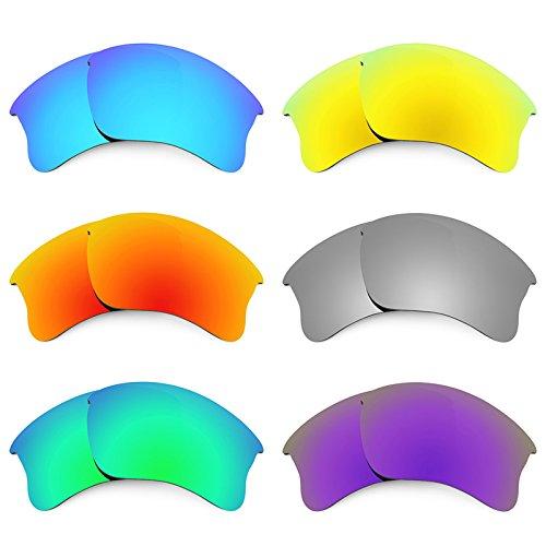 Revant Ersatzlinsen für Oakley Flak Jacket XLJ Polarisiert 6 Paar Kombipack K027