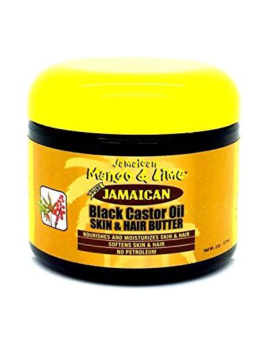 Jamaican Mango & Lime Beurre Cheveux/Corps Ricin 177 ml - Lot de 4