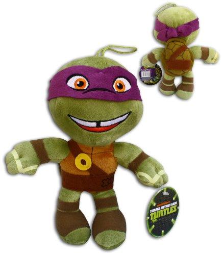 Donatello 30cm Super Soft Plüsch Schildkröten Viola TMNT Half Shell Heroes Comicserie Teenage Mutant Ninja Turtles Turtler Spielzeug Figur (Ninja Donatello Turtles Aus)