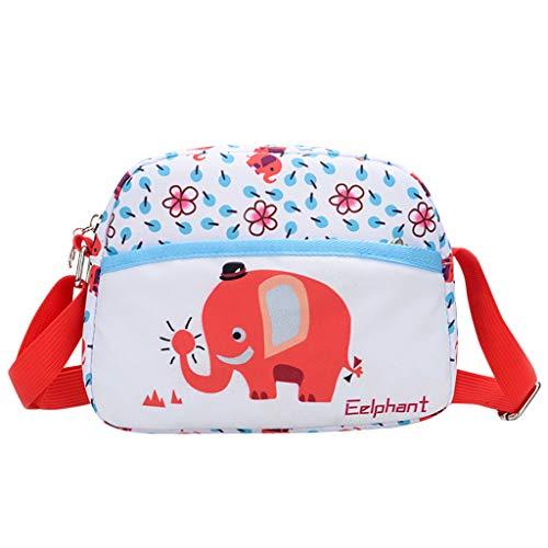 Dorical Messenger-Bag für Mädchen und Jungen Cartoon-Umhängetaschen für Schule und Cosplay, OutdoorRucksack,Ausverkauf(Blau) -