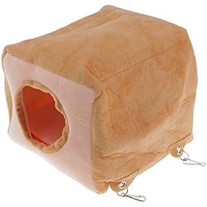 Gazechimp Spielzeug Hängematte Für Ratte Hamster Bett Haus